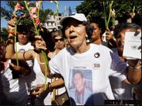 Marcha de las Damas de Blanca en La Habana