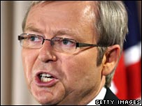 Australia's new PM Kevin Rudd