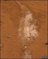 Silica deposits (Nasa)
