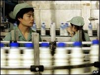 Wahaha production line