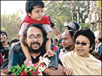 Abdullah Al Mamun was one of the Rajshahi professors freed