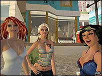 Girls in Second Life