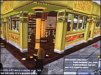 Pub in Second Life