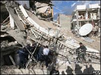 مقر مفوضية الأمم المتحدة بعد الهجوم
