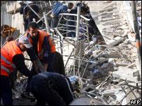 التفجير الذي استهدف الأمم المتحدة في ديسمبر الماضي.