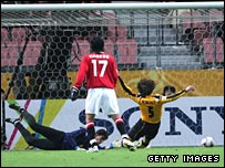 Action from Urawa Red Diamonds v Sepahan in the Club World Cup