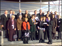 Councillors from Powys and Conwy lobbied assembly members