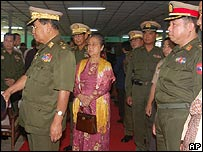 Burma's military leader, Gen Than Shwe
