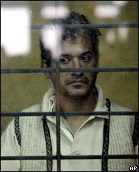 Jose Luis Calva in court (25 October 2007)