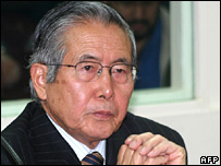 Alberto Fujimori (11 December 2007)