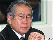 Alberto Fujimori (11 December 2007)