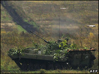 Russian tank - 28/09/2007