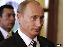 Russian President Vladimir Putin - file photo