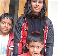 Karan Vasudeva and her children