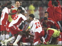 African champions Etoile du Sahel of Tunisia