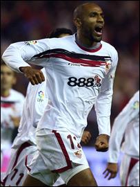 Malian striker Frederic Kanoute