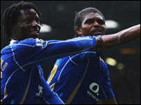 Benjani and Kanu