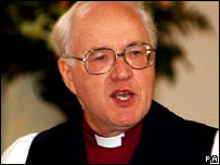 Former Archbishop of Canterbury Lord Carey