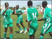 Burundi players at the 2007 Cecafa Cup