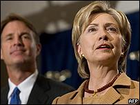Hillary Clinton, ex primera dama y candidata demócrata
