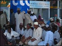 Pilgrims stranded at Dar es Salaam airport