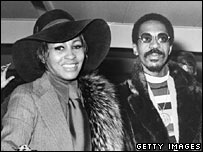 Tina Turner and Ike Turner. 1972 photo