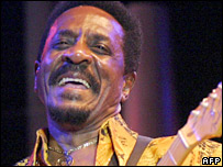 Ike Turner performing
