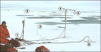 Ice mass balance buoy