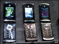 Mobile phones - file photo