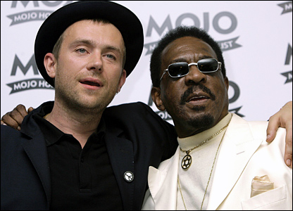 Damon Albarn with Ike Turner