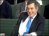 Gordon Brown at liaison committee