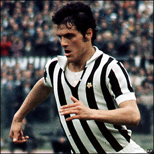 Capello playing for Juventus