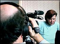 Paul Watson filming