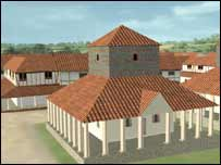 Town reconstruction