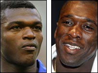 Marcel Desailly (right) and Clarence Seedorf (right)