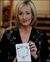 BBC NEWS | Entertainment | Rare JK Rowling book fetches £2m