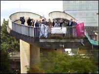 The Bridge to Nowhere. PIC: Ian Watson, Studio Scotland