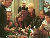 Eastenders Christmas special from 2001