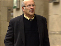 Vincent Simpson outside the High Court