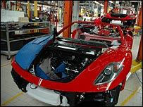 Ferrari assembly
