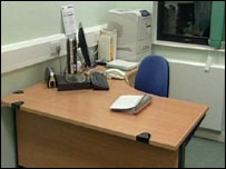 Office at Maidstone Hospital