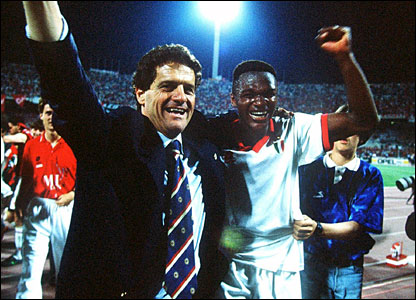 Fabio Capello and Marcel Desailly