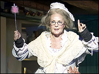 Pauline Collins in Cinderella