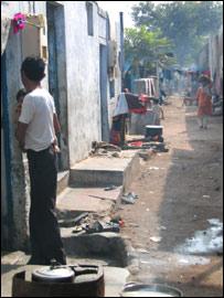 The Muslim-dominated Naroda Patiya area of Ahmedabad (Pic: Geeta Pandey)
