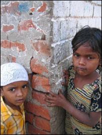 Muslim children in Naroda Patiya, Ahmedabad. (Pic: Geeta Pandey)
