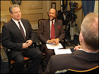 Al Gore and Dr Rajendra Pachauri