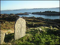 Possible site of grave of St Eithne