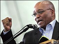 Jacob Zuma, contender for ANC leadership