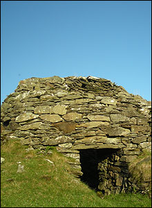 Beehive cell used by Celtic monks