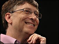 Bill Gates, gerente y dueño de Microsoft